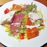 たべる菜 - 料理写真:1500円ランチ 2人で取り分け
