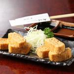 丁子屋 - 料理写真:自然薯を使ったふんわり卵焼き風の『焼きとろ』