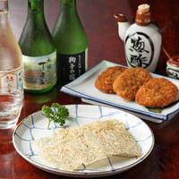 丁子屋 - 静岡の味『焼津ハンペンフライ』と『用宗産たたみいわし』