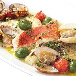 地元神奈川の誇れる、美味しい鮮魚と旬野菜の素材を活かした料理