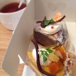 菓子工房 Pao de lo - ガトーショコラ&かぼちゃのクラフティー