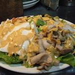 鳥膳 丸梅 - 豚と豆腐のコブサラダ