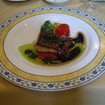 21898923 - 真鯛のポアレ バルサミコとバターのソース