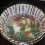 泊舟 - 鯛胡麻茶漬