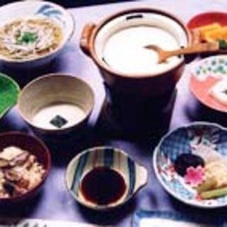 手作り豆腐御膳(※前日までに要予約)…1,760円