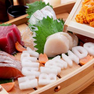 ≪女子会のご提案≫旬の味覚・鮮魚を贅沢にご堪能下さい。