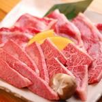 焼肉 東野 - 特選サービスセットの一皿です。◆特選ロース 特選カルビ 焼シャブカルビ