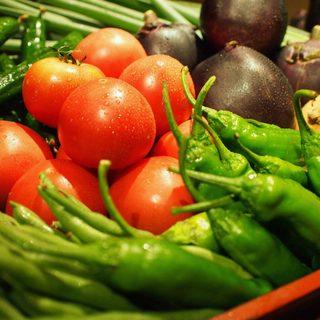 独自のルートで仕入れてた旬の京野菜を堪能できます!!