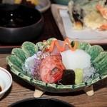 天六 - 料理写真:刺身は新鮮そのもの。