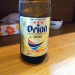 沖縄料理 がじゅまる - オリオンビール(中瓶)