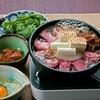 目黒の和食 さとう - 料理写真:《名物★特製味噌の牛鍋2800円》  赤味噌とトマトを練りこんで作った特製味噌でお召し上がりください。