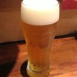 千子 - 生ビール