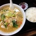 えばら食堂 - 五目坦々麺