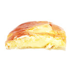 バックハウスイリエ クリームパン売り場 - クリームパンの断面 '13 10月上旬