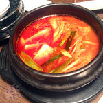 焼肉ハウス 香花園 - 牛すじの煮込み
