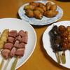 鶏三和 - 料理写真:買い求めた品並べました