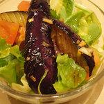 竹琳 - かぐや姫御膳のサラダ。