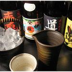 日本橋燻とん - 入手困難地焼酎もばっちりラインナップ