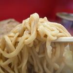 ラーメン二郎 - ちょっとヤワな二郎麺もミタジ独特のもの(2013年9月18日)