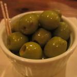 ウグイス - オリーブのピクルス