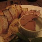 ウグイス - お肉の前菜3種盛り合わせ