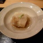 ぎんざ 一二岐 - 揚げ胡麻豆腐
