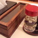 赤坂味一 - シンプルなテーブルアイテム