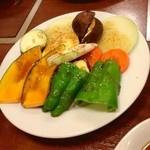 東海苑 - 野菜焼き