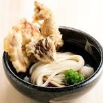金沢製麺処 - 鶏天ぶっかけ