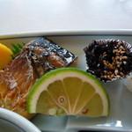 ホテルニューうすき - 料理写真:和 鯖の塩焼き