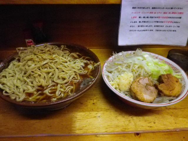 豚親分 - 大ラーメン\750+麺増し\100