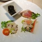 トラットリア たにぐち - 2.本日の前菜