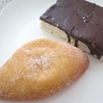 スカイラーク セントラル キッチン - チョコファンシー&クリームドーナツ