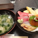 Sushizammai - 上ちらし丼1480円