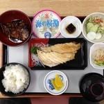 桜勘 - カンパチ焼き魚定食