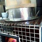 とこわか - 料理写真:ごはんは毎日お竃さんで炊き上げております。木のまちの資源を大切に燃料は地元の山の薪を使用しています。