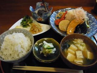 四季旬菜 みづほ - 2013.10)ランチ(1000円)。やはり、うまい