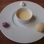 Le Salon de Legumes - プリンとアイス、マシュマロ