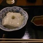 そば切り 萬両 - 湯葉豆腐