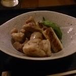 そば切り 萬両 - 地鶏の塩焼き