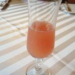 ケーオーホテル - 手作りグレープフルーツジュース