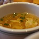 ステーキハウス ブロンコビリー - セットのスープ