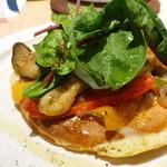 リバイブキッチン - ラタトゥイユのパンケーキ