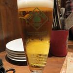 アガリコオリエンタルビストロ - ハートランドビール生(450円)