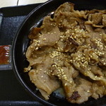 吉野家 - 牛カルビ丼(並盛)税込480円
