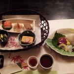 仙郷 - 前菜、お造り