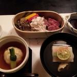 仙郷 - 吸い物、蒸し物、焼き物