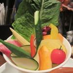 アガリコオリエンタルビストロ - 花里農園のこだわり野菜