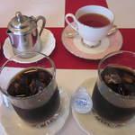 レストラン プチマリエ - アイスコーヒー&紅茶