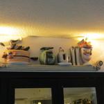 ホットケーキパーラー フルフル - 可愛い看板